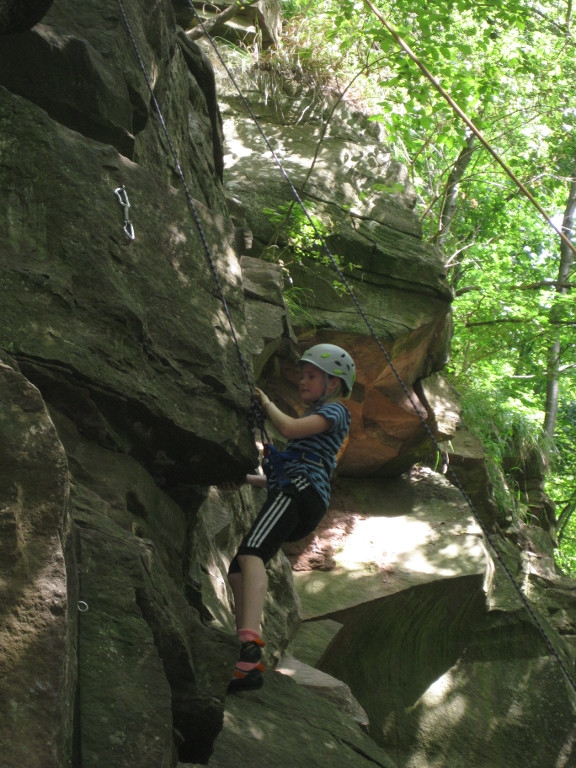 Klettern Im Nagoltal